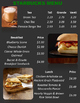 5.NBT.7 (Add & Subtract Decimals) Restaurant Math-Starbucks