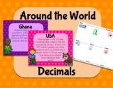 5.NBT.7 (Add,Subtract & Multiply Decimals) Around the World