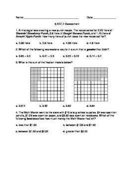 5.NBT.7 Assessment