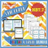 5.NBT.7 Bundle ⭐ Add, Subtract, Multiply, & Divide Decimals