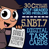 5.NBT.7 DECIMAL OPERATIONS Activity for Google Classroom ★