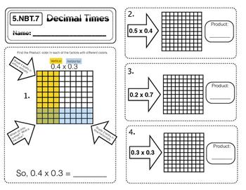 5.NBT.7  Decimal Times
