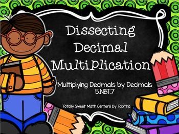 5.NBT.7 Dissecting Decimal Multiplication BUNDLE!
