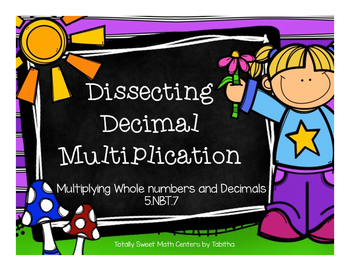 5.NBT.7- Dissecting Decimal Multiplication: Multiplying Whole numbers & Decimals