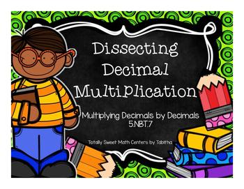 5.NBT.7 Dissecting Decimal Multiplication Part 2:  Decimal