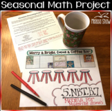 5.NBT.7 MULTIPLYING DECIMALS MODELS *Christmas* Activity PROJECT