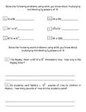 5.NBT.A.2 Post Assessement