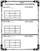 5.NBT.B.7 - Area Model with Multiplication of Decimals Worksheet Practice