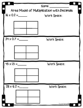 5 nbt b 7 area model with multiplication of decimals. Black Bedroom Furniture Sets. Home Design Ideas