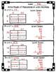 5.NBT.B.7 - Area Model with Multiplication of Decimals Wor