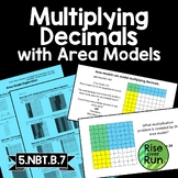 5.NBT.B.7 Decimal Multiplication with Area Models Lesson