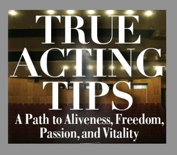 """5 NEW TRUE ACTING TIPS FOR THE CLASSROOM"""
