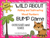 5.NF.1/5.NF.2 Wild About Adding and Subtracting Mixed Numb