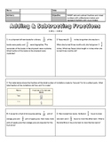 5.NF.1 - 5.NF.2 Word Problems