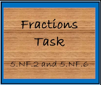 5.NF.2 and 5.NF.6 Potting Soil Task