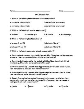 5.NF.3 Assessment