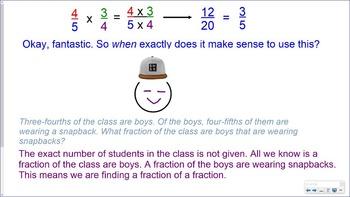 5.NF.4 SMART Board Lessons [116 Slides, ~1 week of instruction]