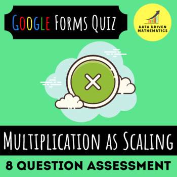 Multiplication as Scaling Quiz (Available in Google Forms & Paper Format)
