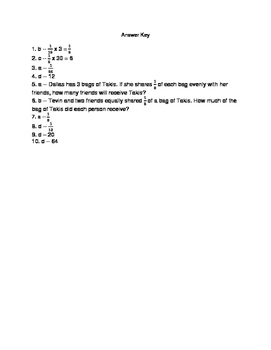 5.NF.7 Assessment