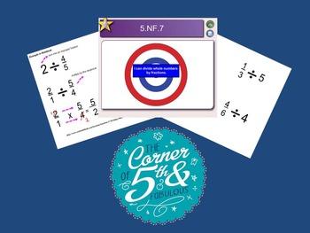 5.NF.7 Divide Fractions
