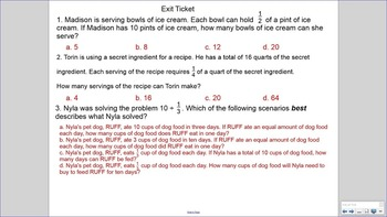 5.NF.7 SMART Board Lessons [114 Slides, ~1 week of instruction]