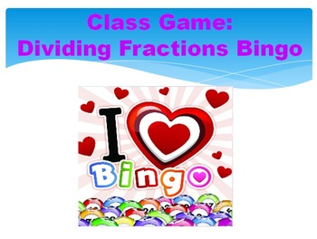 5.NF.7 dividing fractions review PPT