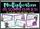 5.NF.B.5 - Multiplication as Scaling Activities, Task Cards, & Assessment Bundle