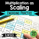 Multiplication as Scaling Practice