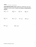 5.NF.B.7A-C Dividing Fractions
