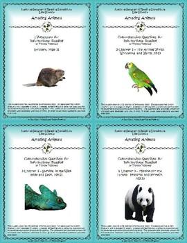 5 NGRE Amazing Animals - Complete Set, 1-4