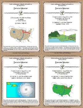 5 NGRE Extreme Weather - Complete Set, 1-4