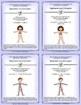 5 NGRE Respiration and Circulation - Complete Set, 1-4