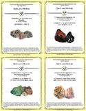 5 NGRE Rocks and Minerals - Complete Set, 1-4
