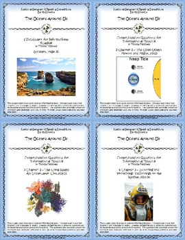 5 NGRE The Oceans Around Us - Complete Set, 1-4