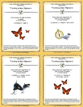 5 NGRE Tracking Animal Migrators - Complete Set, 1-4
