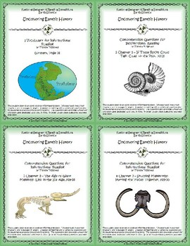 5 NGRE Uncovering Earth's History - Complete Set, 1-4
