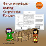 Native American Reading Comprehension Passages Grades 1-2