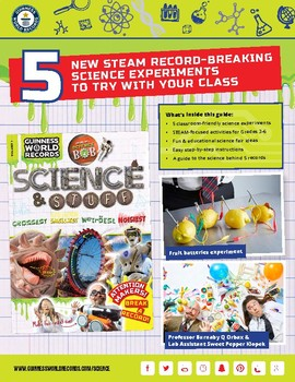 5 New STEAM Record-Breaking Science Experiments to Try with your Class