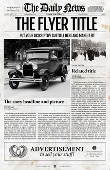 5 Newspaper Templates Bundle