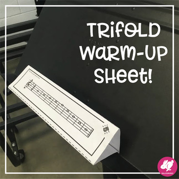 5-Note Scale Warm-Up: 3D Foldable for Beginning Band (Concert Bb)