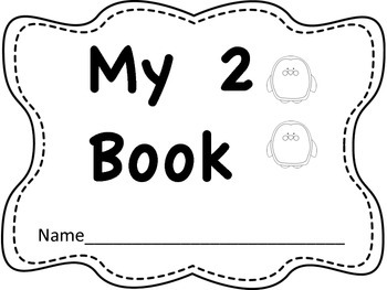 5 Number Books #s 1-5