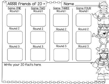 Number Sense Math Practice Activities Bundle