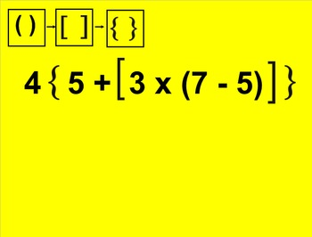 5.OA.1 Order of Operations