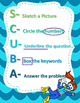 Word Problem (SCUBA Strategy) Anchor Chart