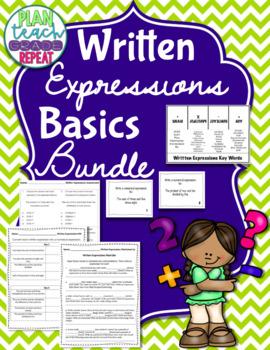 Written Expressions Basics Bundle