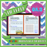 5.OA.3 Interactive Notebook: Numerical Patterns & Graphing ⭐ Digital