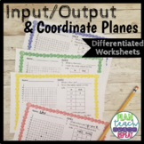 5.OA.3 and 5.G.1 (Input Output Table/Coordinate Plane) Dif