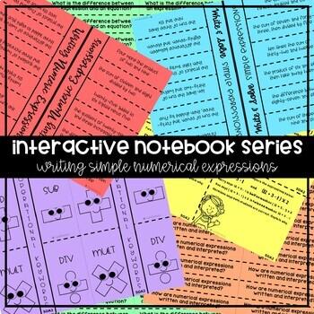 5th Grade *BUNDLE* Operations & Algebraic Thinking (Interactive Notebook Series)