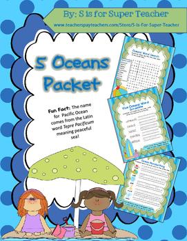 5 Oceans Packet