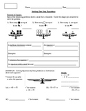 5) One Step Equations Guided Notes for All Operations (to accompany PPT lesson)